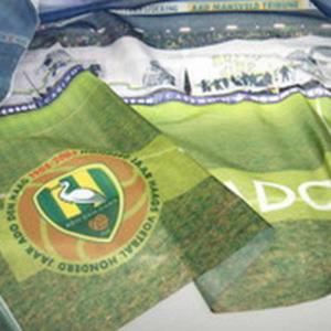 ADO Den Haag vlag stadion