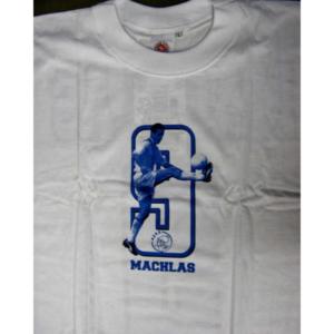 Ajax shirt Machlas blauw – MAAT L
