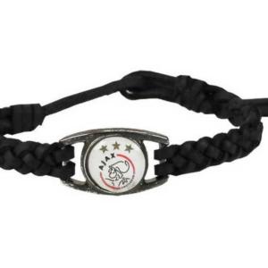 Ajax armbandjes zwart clublogo