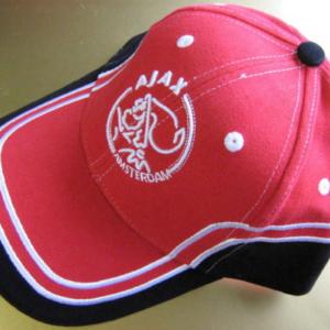 Ajax cap rood A-rand zwart – senior