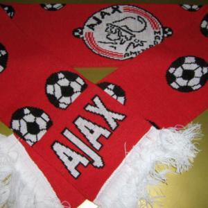 Ajax sjaal voetballen