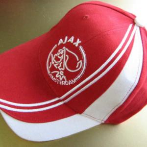Ajax cap rood beige baan – senior