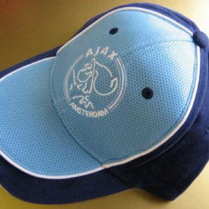 Ajax cap navy wit logo – senior