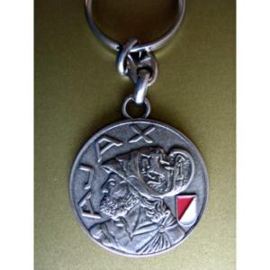 Ajax sleutelhanger oud clublogo