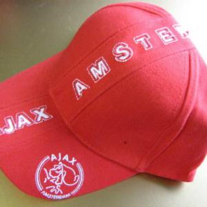 Ajax cap rood tekst – senior