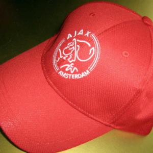 Ajax cap rood logo – senior