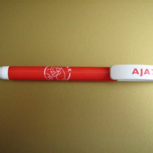 Ajax pen rood wit