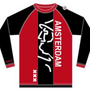 Ajax longsleeve rood zwart – MAAT M