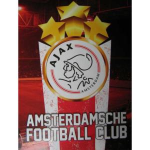Ajax schrift stars A5 lijntjes