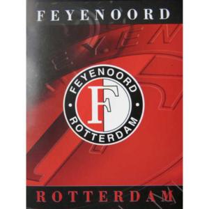 Feyenoord schrift gelinieerd