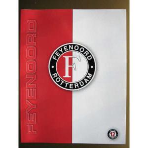 Feyenoord schrift thuis