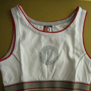 Feyenoord meisjes topje wit logo – MAAT 140