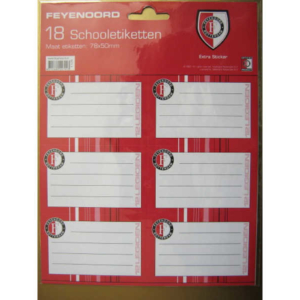 Feyenoord schoollabels
